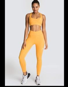 DOYOUEVEN Excel Orange sherbet workout leggings